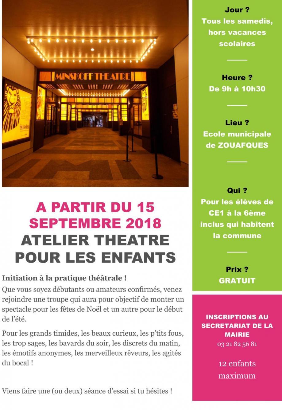Affiche theatre z