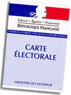 Carte electorale