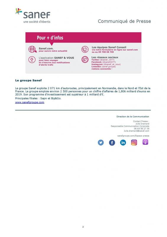 Communique de presse sanef covid et gratuite du personnel soignant confinement 2 page 002