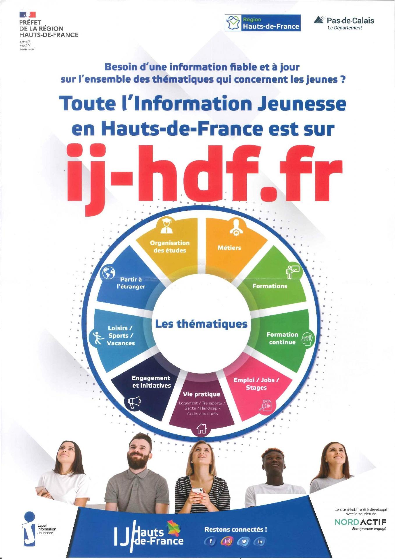 Informations jeunesse region 1